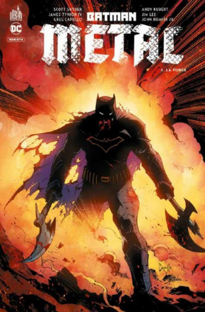 Couverture Batman metal tome 1