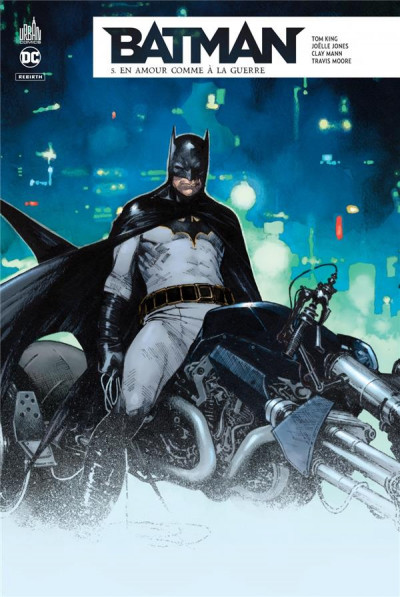 Couverture Batman rebirth tome 5
