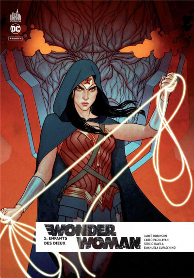 Couverture Wonder Woman rebirth tome 5