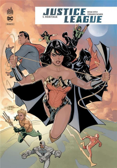Couverture Justice League rebirth tome 5