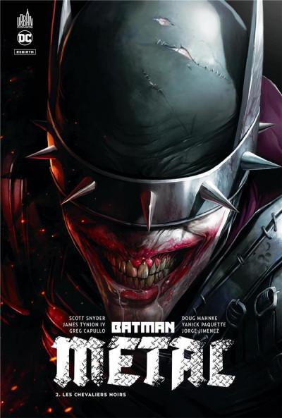 Couverture Batman metal tome 2