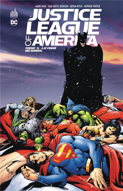 Couverture Justice League of America tome 5