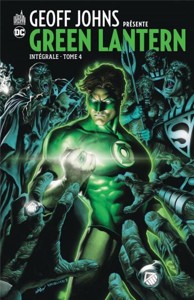 Couverture Geoff Johns présente Green Lantern - intégrale tome 4