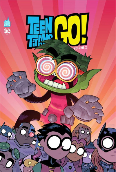 Couverture Teen titans go ! tome 2