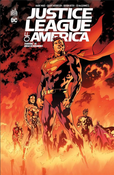 Couverture Justice League of America tome 6