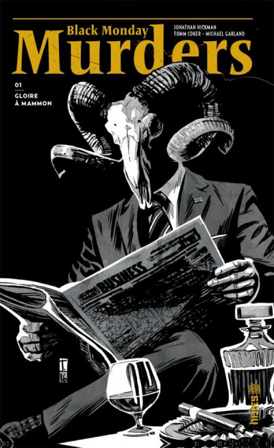 Couverture Black monday murders tome 1