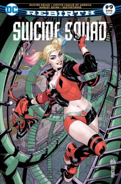 Couverture Suicide squad rebirth tome 9