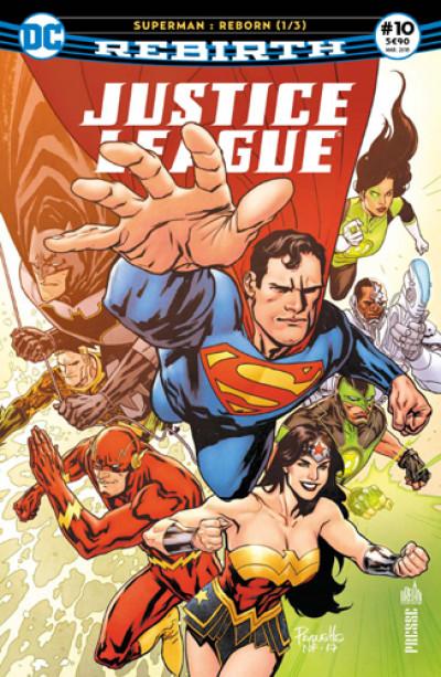 Couverture Justice league rebirth tome 10