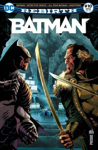 Couverture Batman rebirth tome 10