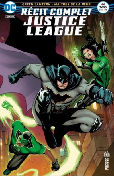 Couverture Justice league récit complet tome 6