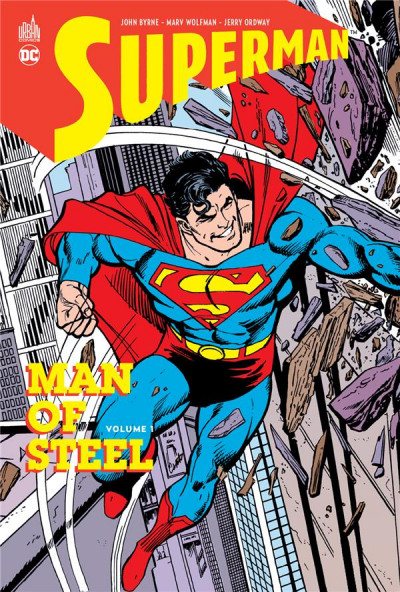 Couverture Superman man of steel tome 1