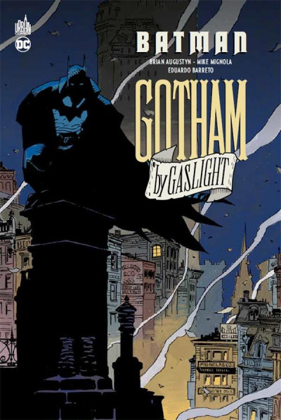 Couverture Batman - Gotham by gaslight + DVD
