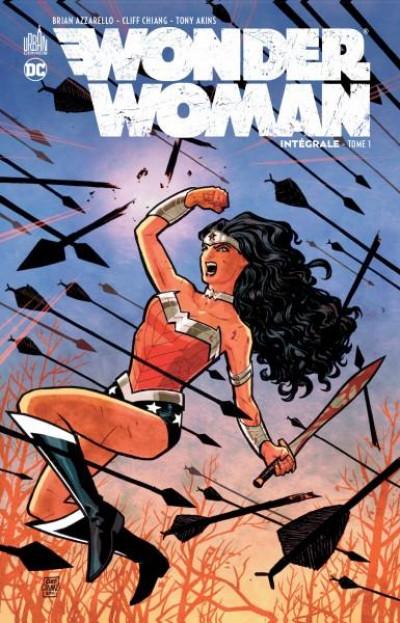 Couverture Wonder woman - intégrale tome 1