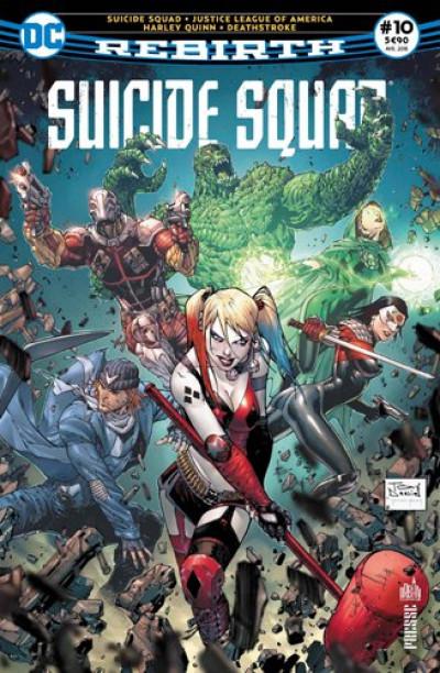 Couverture Suicide Squad rebirth tome 10
