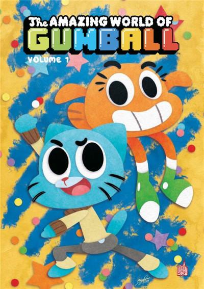 Couverture Le monde incroyable de Gumball tome 1