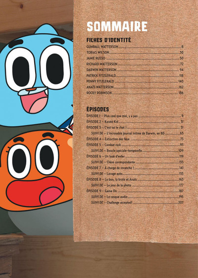 Page 5 Le monde incroyable de Gumball tome 1