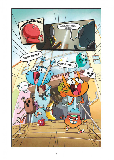 Page 9 Le monde incroyable de Gumball tome 1