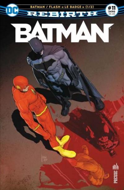 Couverture Batman rebirth tome 11