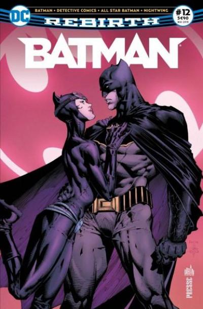 Couverture Batman rebirth tome 12