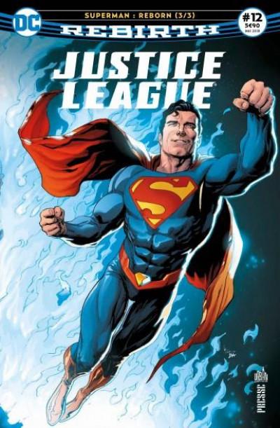 Couverture Justice League rebirth tome 12