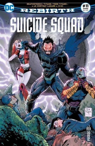 Couverture Suicide Squad rebirth tome 11 - « Lazarus contract »