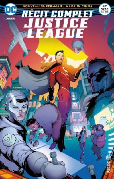 Couverture Justice League récit complet tome 7