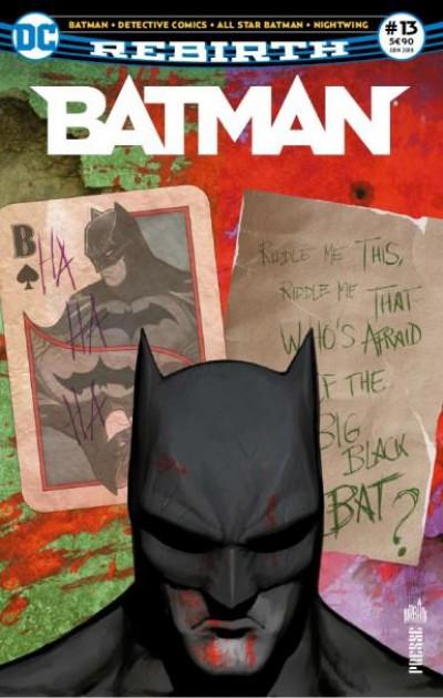 Couverture Batman rebirth tome 13