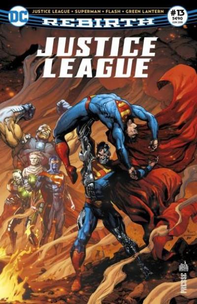 Couverture Justice League rebirth N.13 ; Flash au XXVe siècle !