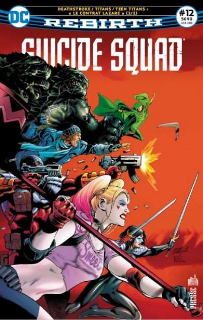 Couverture Suicide Squad rebirth tome 12 - « Lazarus contract » 2/2