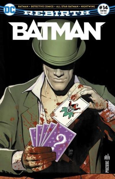 Couverture Batman rebirth tome 14