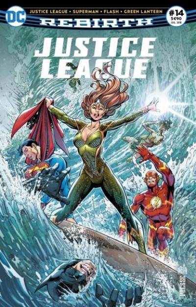 Couverture Justice League rebirth tome 14