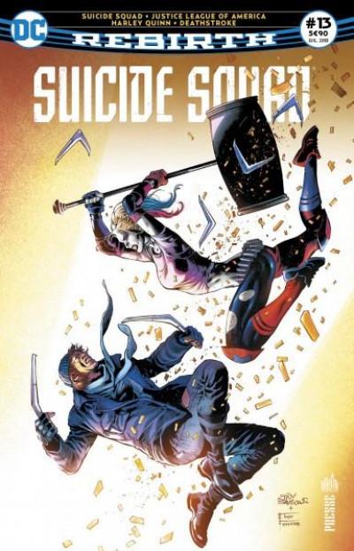 Couverture Suicide squad rebirth tome 13