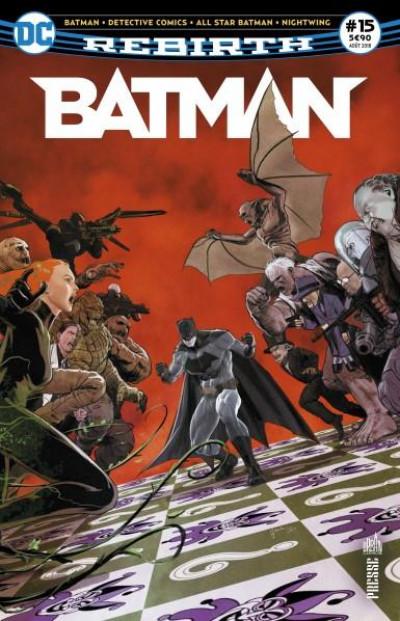 Couverture Batman rebirth tome 15