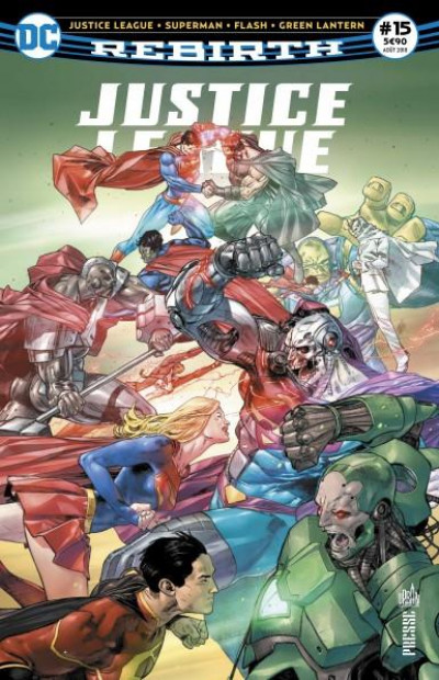 Couverture Justice league rebirth tome 15