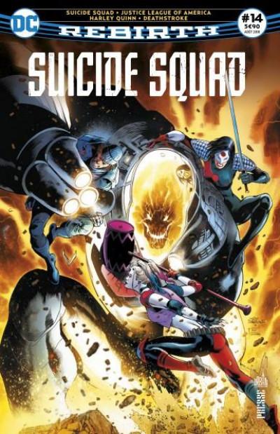 Couverture Suicide squad rebirth tome 14