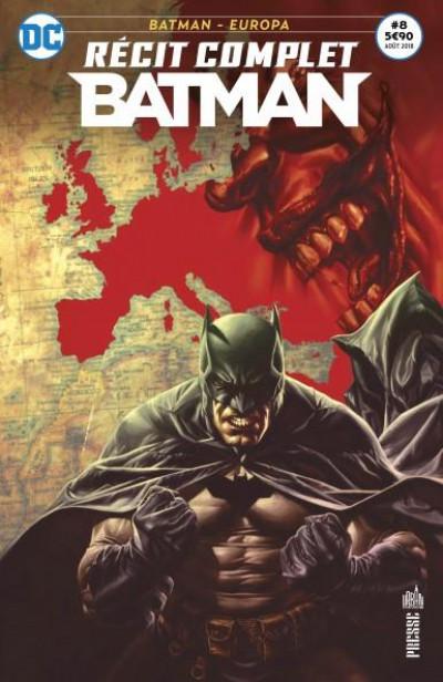 Couverture Batman récit complet tome 8 - Voir l'Europe et mourir