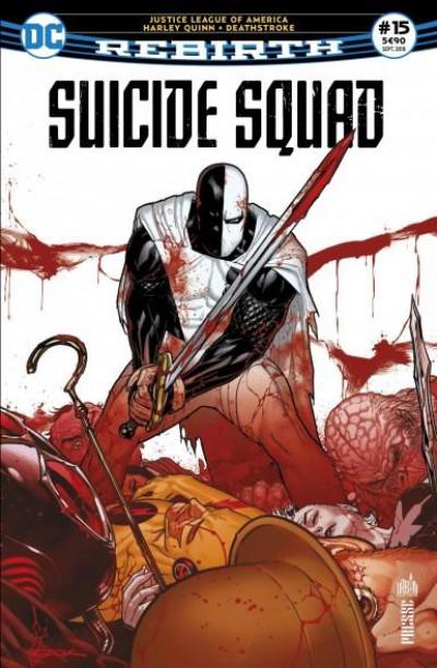 Couverture Suicide Squad rebirth tome 15