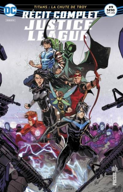 Couverture Justice League récit complet tome 9