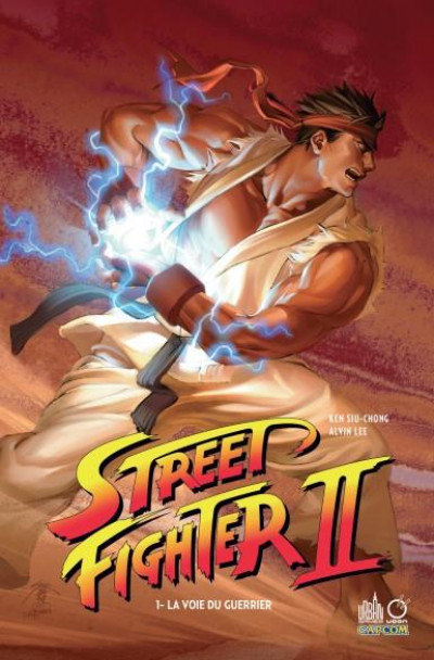 Couverture Street fighter II tome 1