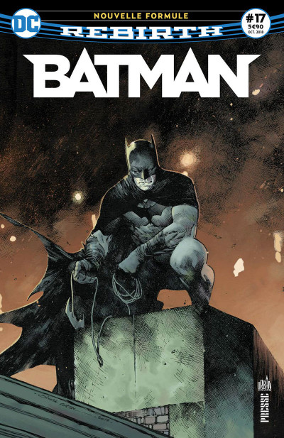 Couverture Batman rebirth tome 17
