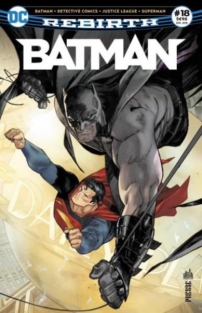 Couverture Batman rebirth tome 18