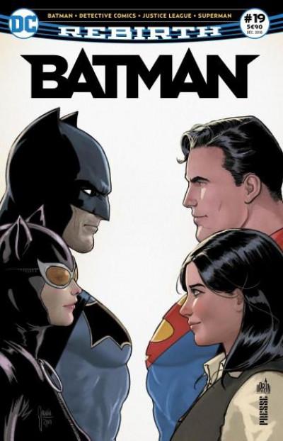 Couverture Batman rebirth tome 19