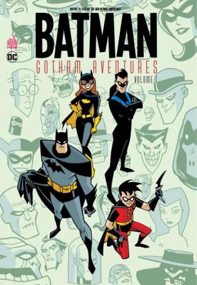 Couverture Batman gotham aventures tome 1