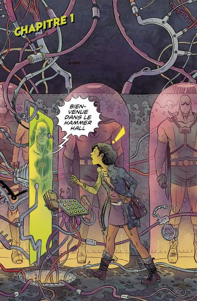 Page 9 Black hammer présente : Sherlock Frankenstein & la ligue du mal