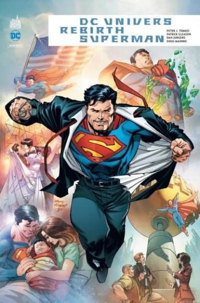 Couverture DC univers rebirth - Superman
