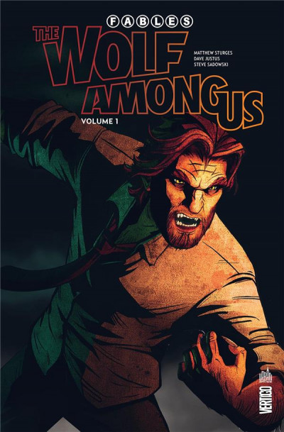 Couverture Fables -  the wolf among us tome 1