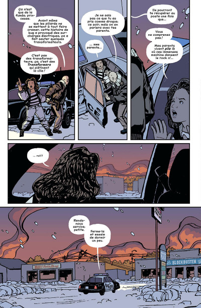 Page 8 Paper girls tome 4