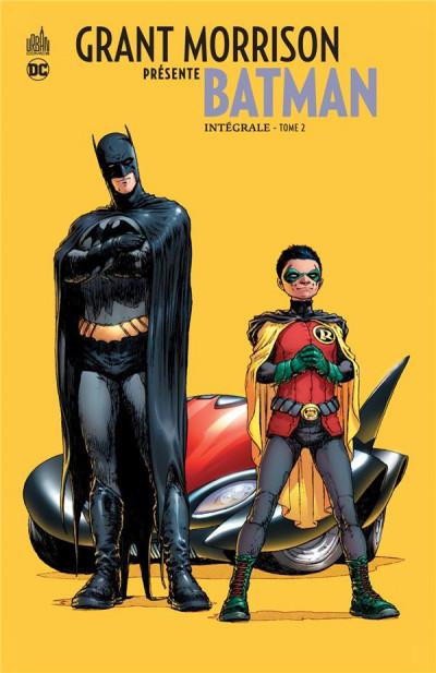 Couverture Grant Morrison présente Batman - intégrale tome 2