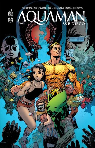 Couverture Aquaman sub-diego tome 1