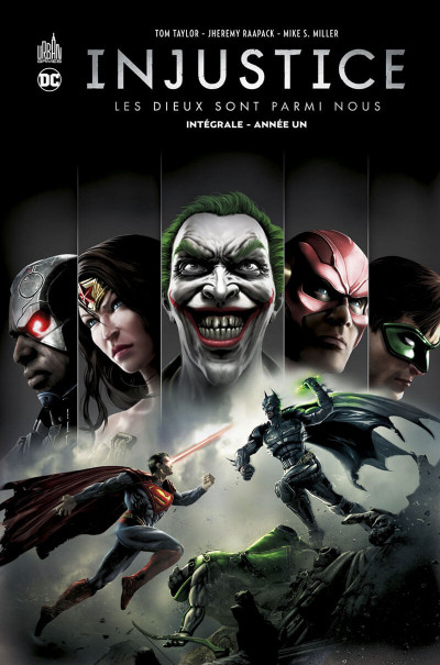 Couverture Injustice - intégrale tome 1